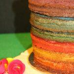 торт радуга рецепт с фото