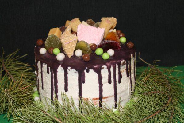 торт радуга все буде добре