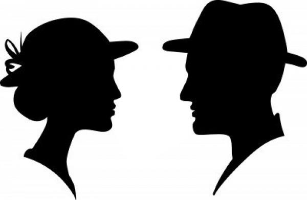 мужчиной- женщина