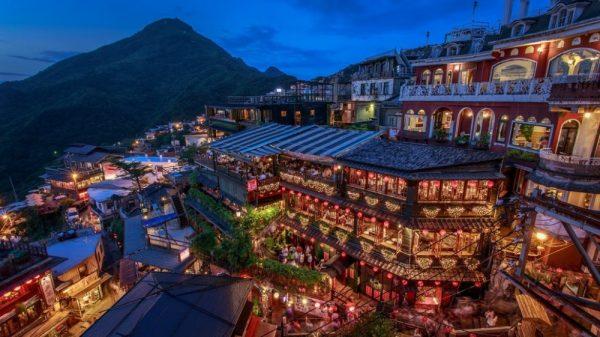 Джиуфен, Тайвань