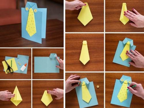 Маркой, как сделать папе сделать открытку своими руками